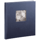 Klasické fotoalbum 50 stran Fine Art modré