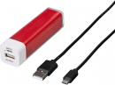 Hama externí baterie Power Pack, 2600 mAh, červená