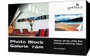 GOLDBUCH samolepící rám plast PHOTO BLOCK 20x30, černý