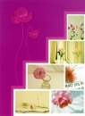 Minialbum 9x13 pre 36 fotiek   Pastel Vase růžový