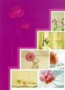 Minialbum 9x13 pro 36 fotek Pastel Vase  růžový