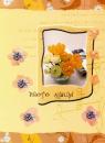 Minialbum 9x13 pro 36 fotek Pastel Vase  žlutý