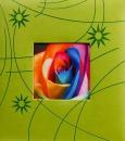 Klasické fotoalbum 100 strán Colorful zelený