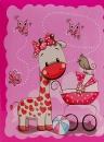 Mini album pre 100 fotiek 10x15 Muzzle ružový