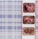 Fotoalbum 10x15 pro 500 fotek Sweet heart modré