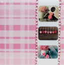 Fotoalbum 10x15 pro 500 fotek Sweet heart růžové