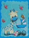 Fotoalbum 9x13 pre 100 fotiek Muzzle modrý