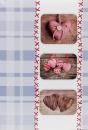Fotoalbum 10x15 pre 300 fotografií Sweet Heart modré
