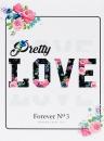 Mini album pre 100 fotiek 10x15 Love 3 růžové