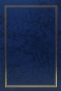 Fotoalbum 10x15 pre 200 fotografií Vinyl P modrý