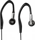 Hama sluchátka HK-280, silikonové špunty Clip-On, černá