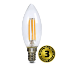 Solight LED žiarovka retro, sviečka 4W, E14, 3000K, 360 °, 440L WZ401