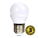 Solight LED žárovka, miniglobe, 6W, E27, 3000K, 450lm WZ412