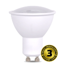 Solight LED žárovka, bodová , 7W, GU10, 4000K, 500lm, bílá WZ319