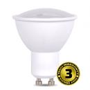 Solight LED žiarovka, bodová, 7W, GU10, 3000K, 500L, biela WZ318
