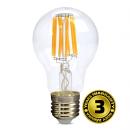 Solight LED žárovka retro, klasický tvar, 8W, E27, 3000K, 360°, 810lm WZ501