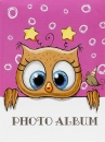 Mini album pre 100 fotiek 10x15 Wonder 2 ružový