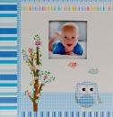 Album pre 200 fotiek 10x15 Owlet modré