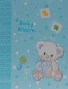 Mini album pre 100 fotiek 10x15 Twinkle modrý