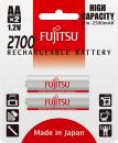 Baterie Fujitsu NIMH AA 2700mAh 2ks