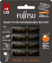 Baterie Fujitsu BLACK 2450mAh AA 4ks