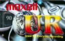 Maxell UR 90min audiokazeta
