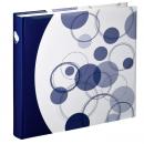 Klasické fotoalbum 80 stran Puntino modré