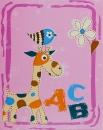 Album detské 10x15 pre 304 fotiek ABC ružové