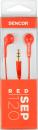 Sencor SEP-120 red, slúchadlá