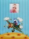 SAMOLEPÍCÍ album 60 stran Float modrý