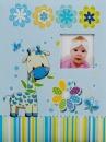 SAMOLEPÍCÍ album 60 stran Charm modrý