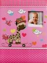SAMOLEPIACE album 40 strán Zoo ružový