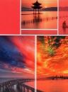 Mini album 10x15 pre 36 fotiek Timing červené
