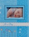 Album detské 10x15 pre 304 fotiek Bambini modrý