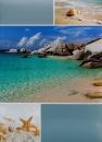 Fotoalbum 10x15 pre 200 fotografií  Starfish modrý