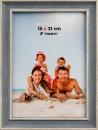 Fotorámeček Malaga 15x21 šedomodrý