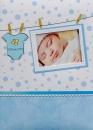 Fotoalbum 10x15 pre 300 fotografií Baby modrý