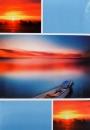 Fotoalbum 10x15 pre 200 fotiek Sunrise modrý
