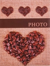 Mini album pro 100 fotek 10x15 Coffee 3
