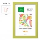 Fotorámeček 13x18 PINIA 14 zelený