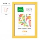 Fotorámeček 15x21 PINIA 18 žlutý