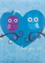Fotoalbum 10x15 pre 200 fotiek Owl we need modrý