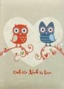Fotoalbum 10x15 pre 200 fotiek Owl we need béžový