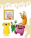SAMOLEPÍCÍ album 40 stran Spookies hnědé