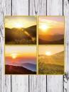 Fotoalbum 9x13 pre 200 fotiek Wood  šedý