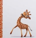 Album detský 100 stran Giraffe 4