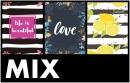 Minialbum 10x15 pro 64 fotek Leaf-mix barev