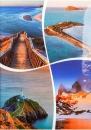 Fotoalbum 10x15 pre 200 fotiek lepený Veo 1 modrý