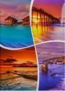 Fotoalbum 10x15 pre 200 fotiek lepený Veo 2 oranžový