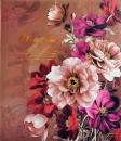 Fotoalbum 10x15 pro 500 fotek Flowers hnědé